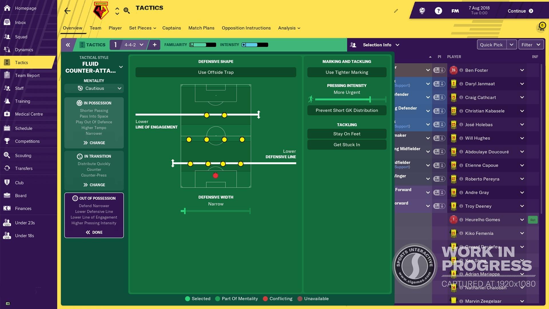 Football Manager 2019 Screenshot 1