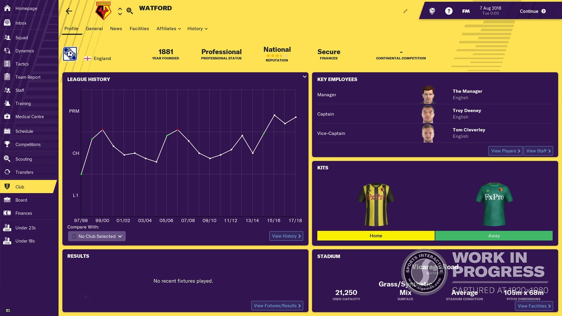 Football Manager 2019 Screenshot 2