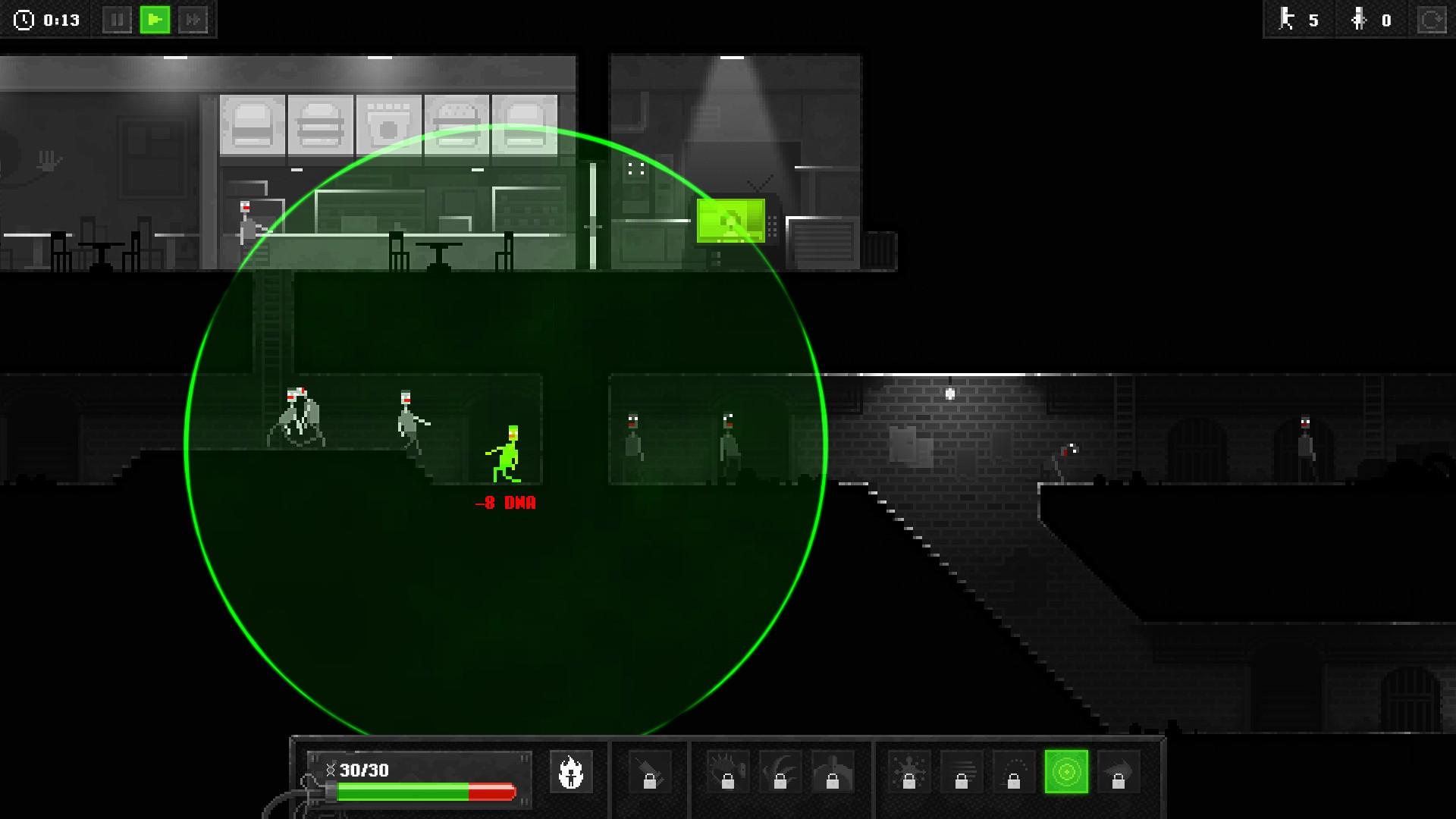 I Walk Among Zombies Screenshot 1