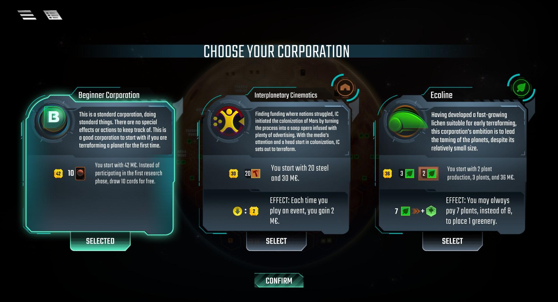 Terraforming Mars Screenshot 3