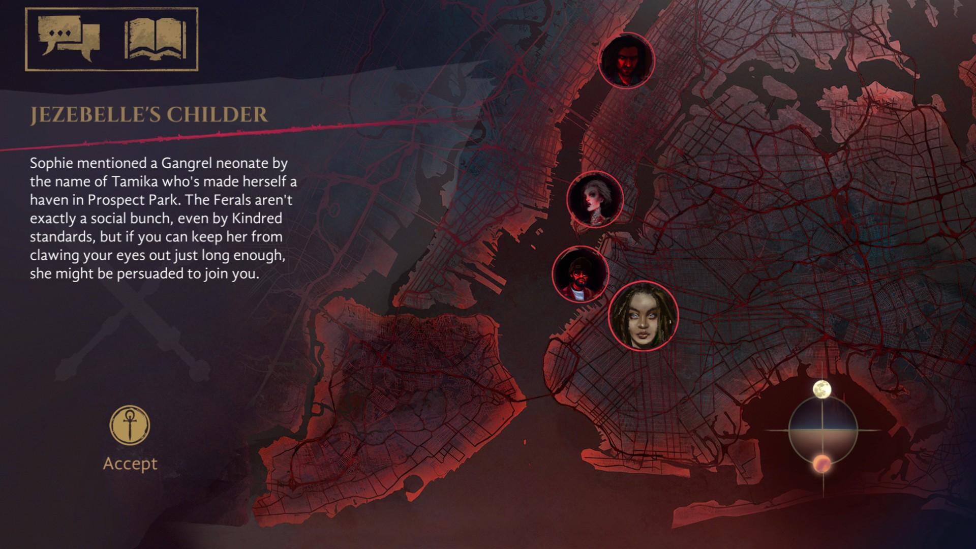 Vampire: The Masquerade - Coteries of New York Screenshot 3