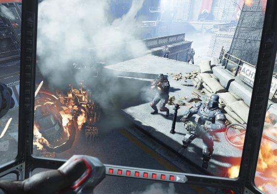 Wolfenstein: Cyberpilot Screenshot 2